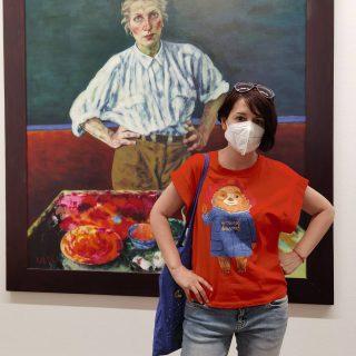 Разкошна и модерна изложба на Xenia Hausner в Музея Албертина във Виена.  Арт, арт, арт. 💖🙂 . . . . . #albertinamuseum #albertina #Albertinawien #wien_love #wien #viennacity #viennaart #austriavienna #austriavacations @studio_xenia_hausner @albertinamuseum